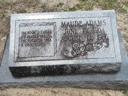 Maude Louise <i>Chappell</i> Adams