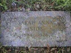 Sarah Anna <i>Carpenter</i> Aston