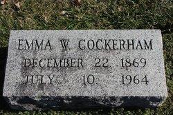 Emma <i>Woodruff</i> Cockerham