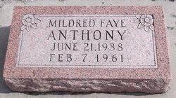 Mildred Faye <i>Norman</i> Anthony