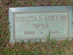 Henrietta N. Anderson