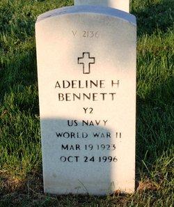 Adeline H Bennett