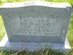 Ida R <i>Rice</i> Crossman