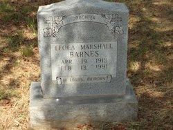 Leola <i>Marshall</i> Barnes