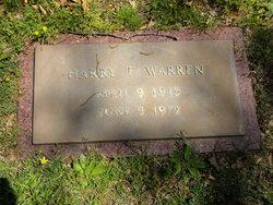 Harry F Warren