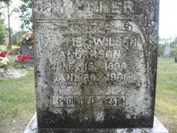 Mittie <i>Wilson</i> Anderson