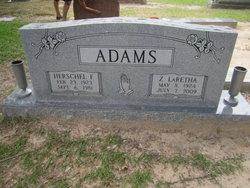 Zola LaRetha <i>Davis</i> Adams