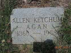 Allen Ketchum Agan