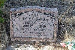 Luticia <i>Gonzales</i> Barela