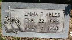 Emma E <i>Quarles</i> Ables