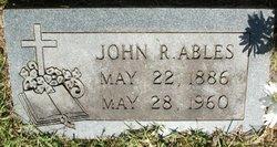 John Robert Ables