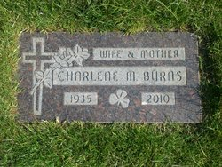 Charlene M <i>Hanley</i> Burns