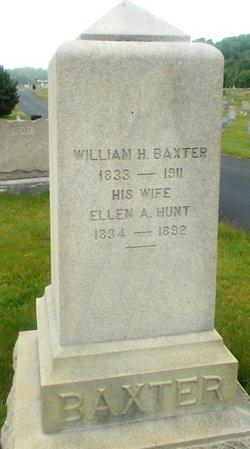 Ellen A <i>Hunt</i> Baxter