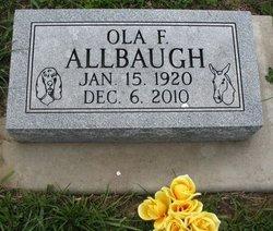 Ola F. Allbaugh