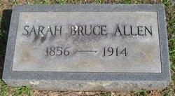 Sarah <i>Bruce</i> Allen