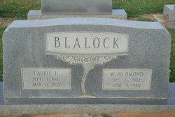 Carrie <i>Hathcock</i> Blalock