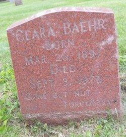 Clara <i>Beckman</i> Baehr