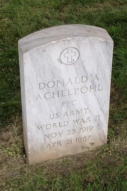 Donald A. Achelpohl