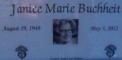 Janice Marie Jan <i>Lorenz</i> Buchheit
