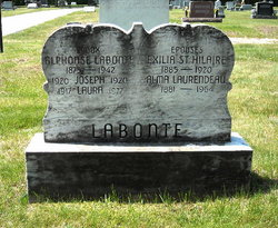 Alma M <i>Laurendeau</i> Labonte