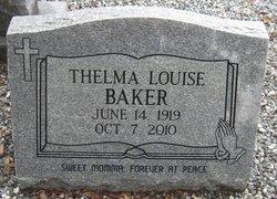 Thelma Louise <i>LePoidevant</i> Baker