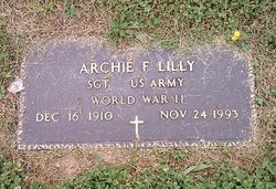 Sgt Archie F Lilly