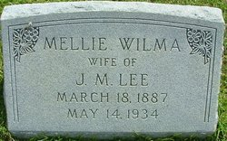 Mellie Wilma <i>Connell</i> Lee