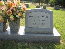 David H Taylor