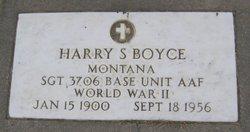 Harry S Boyce