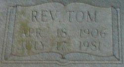 Rev John Thomas Tom Elliott