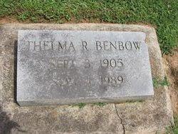 Thelma <i>Ritter</i> Benbow