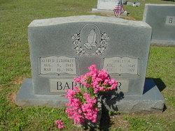 Alfred Eugene Tookey Barringer