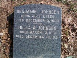 Benjamin <i>Johannesson</i> Johnsen