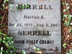 Anne Fleming Polly <i>Cozart</i> Serrell