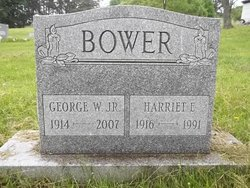 Harriet E Bower