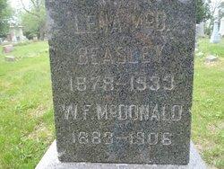 Lena <i>McDonald</i> Beasley