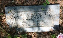 Sheila Waynette Coleman