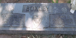 Azedell M Boxley