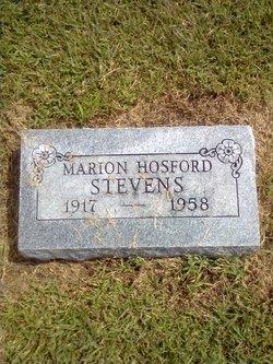 Marion Elizabeth <i>Hosford</i> Stevens
