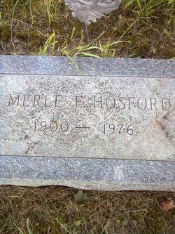 Merle Fred Hosford