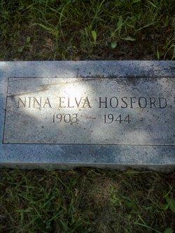 Nina Elva <i>Bechtold</i> Hosford
