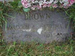 Bertha E <i>Cox</i> Brown