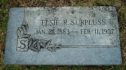 Elsie Rue <i>Hall</i> Surpluss