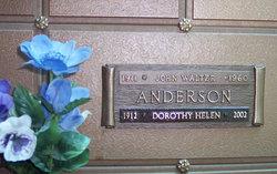 Dorothy Helen Anderson