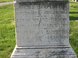 Ralph Weare Carpenter