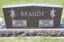 Cora Charlotte <i>Grondahl</i> Brandt