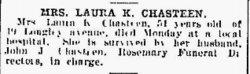 Laura L. <i>King</i> Chasteen