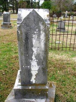 Eliza Barrett