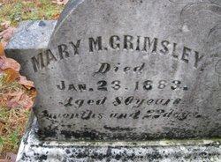 Mary M Polly <i>Scott</i> Grimsley