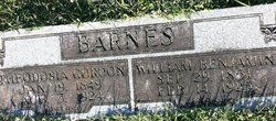 William Benjamin Barnes, Sr